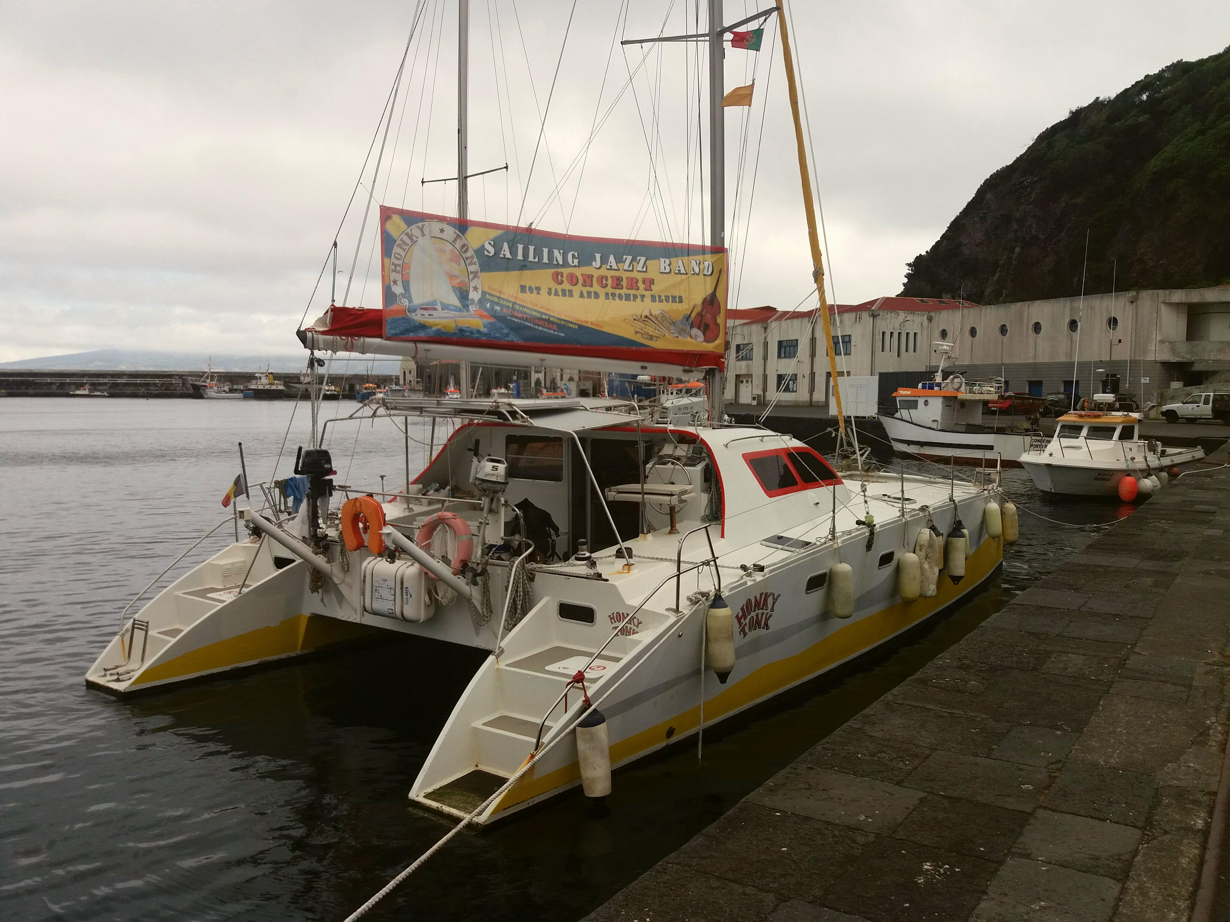 Honky tonk sail Faial 2018