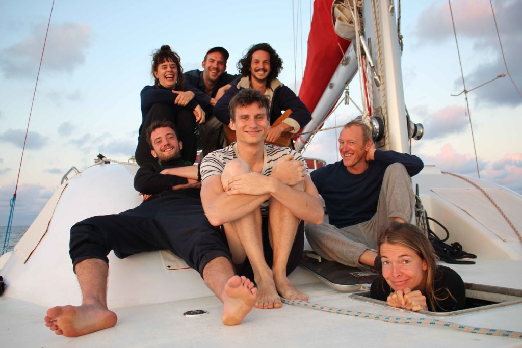 2020-2021 crew of Honky tonk sail