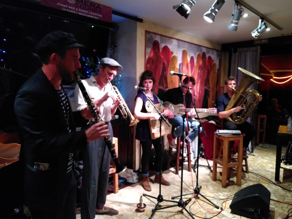 Concert à La Gomera lounge, Îles Canaries